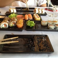 Photo taken at SushiClub by Adrian V. on 10/27/2012