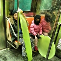 Photo taken at MTA Subway - Fulton St (G) by Michael S. on 1/4/2014
