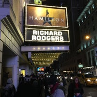 Photo taken at Richard Rodgers Theatre by Kyle M. on 2/15/2016