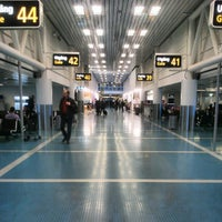 Photo taken at Terminal 4 by Carl-Johan M. on 10/2/2012