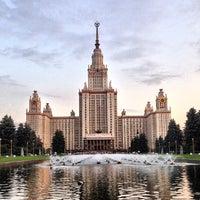Photo taken at МГУ им. М. В. Ломоносова by Forigner on 6/3/2013