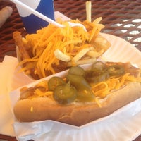 Photo taken at Pacific Coast Hot Dogs (PCH Dogs) by Jase L. on 8/8/2014