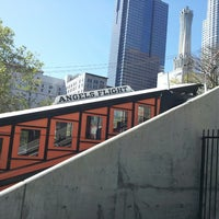 Photo taken at Angels Flight Railway by Daniel J. on 2/26/2013