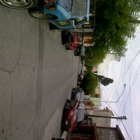 Photo taken at Calle Cerezo Rosa by Karina J. on 9/26/2012