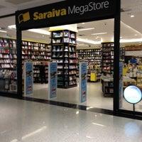 Photo taken at Saraiva Megastore by Adalberto C. on 11/20/2012