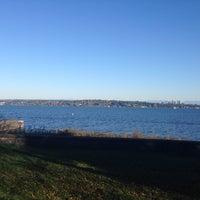Photo taken at Denny Blaine Park by Leo P. on 11/14/2014