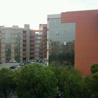 Photo taken at Universidad Privada Antenor Orrego UPAO by Miguel B. on 10/13/2012
