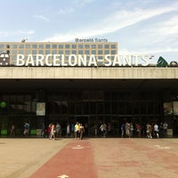 Photo taken at Barcelona Sants Railway Station by Daniel on 7/13/2013