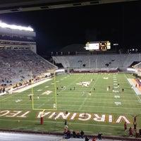 Photo taken at Lane Stadium/Worsham Field by Jobin M. on 11/8/2012