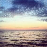 Photo taken at Дикий Пляж by Fish F. on 10/13/2014