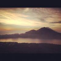 Photo taken at Batur View Spot by Aleksandra N. on 9/28/2012