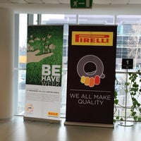 Photo taken at Pirelli Tyre by Roberto C. on 3/14/2016