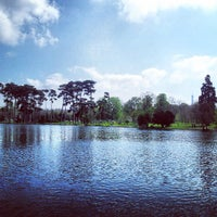 Photo taken at Bois de Boulogne by Kevin T. on 4/20/2013