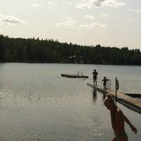 Photo taken at Bessesjön by Melissa A. on 7/12/2013