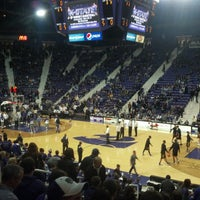 Photo taken at Bramlage Coliseum by Bob S. on 2/19/2013