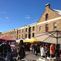Photo taken at Salamanca Market by Susan M. on 3/2/2013