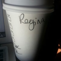 Photo taken at Starbucks by Regina W. on 1/30/2013