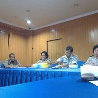 Photo taken at Dinas Perhubungan Prov. DKI Jakarta by Anoe F. on 9/10/2013