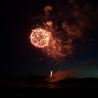 Photo taken at Normandale Lake Park by Melissa P. on 7/4/2014