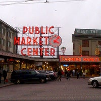 Photo taken at Pike Place Market by Jill on 1/25/2013