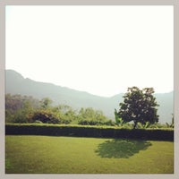 Photo taken at Doi Tung Lodge by Ace Thanaboon S. on 6/17/2013