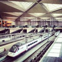 Photo taken at Estación de Zaragoza - Delicias by Pablo O. on 1/9/2013