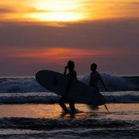 Photo taken at Pantai Kuta (Kuta Beach) by SGT W. on 7/6/2013