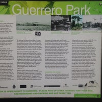 Photo taken at Guerrero Park by Lorcán on 5/9/2014