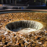 Photo taken at UCLA Inverted Fountain by Devin W. on 6/29/2013