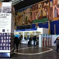 Photo taken at Verona Porta Nuova Railway Station by Alessandro O. on 11/24/2012