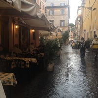 Photo taken at Baccanale Trastevere by Irina F. on 11/27/2012