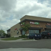 Photo taken at Pita Pit by Megan F. on 5/28/2013