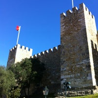Photo taken at São Jorge Castle by Jim S. on 2/9/2013
