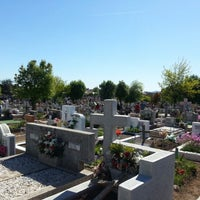 Photo taken at Cementerio de Victoria by DvjFox C. on 11/1/2012