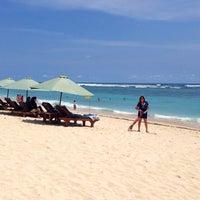 Photo taken at Pantai Pandawa (Pandawa Beach) by Palupi R I. on 11/24/2013