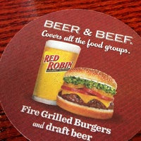 Photo taken at Red Robin Gourmet Burgers by Joe P. on 6/1/2013