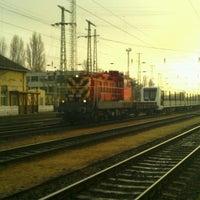 Photo taken at Ferencváros vasútállomás by Attila Á. on 11/29/2012