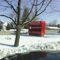 Photo taken at Hinsdale Central High School by Dan L. on 3/7/2013