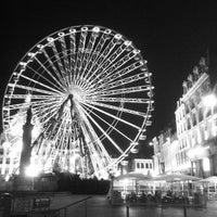 Photo taken at Grand'Place – Place du Général de Gaulle by Maxence D. on 1/8/2013