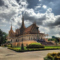 Photo taken at Royal Palace, Phnom Penh by Batsaikhan K. on 6/1/2013