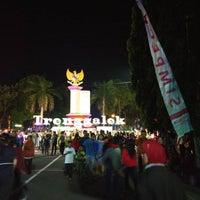 Photo taken at Alun-Alun Trenggalek by Agung P. on 8/20/2016