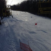 Photo taken at Victor Constant Ski Slope by Laurie S. on 2/1/2014