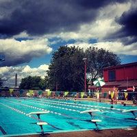 Photo taken at East Potomac Park Pool by Jason T. on 9/1/2014
