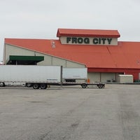Photo taken at Frog City Travel Plaza by Rob B. on 2/28/2014