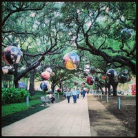 Photo taken at Discovery Green by L. Angel H. on 1/21/2013