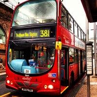 Photo taken at London Bridge Bus Station by Inno O. on 1/17/2013