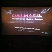Photo taken at Cinemark by Samantha S. on 11/12/2012