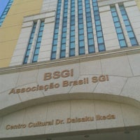 Photo taken at BSGI Associação Brasil Soka Gakkai Internacional by Thiago C. on 7/18/2013