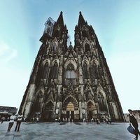 Photo taken at Cologne Cathedral by Oleg K. on 7/9/2013