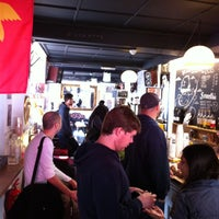 Photo taken at Brick Lane Coffee by Mike H. on 4/14/2013